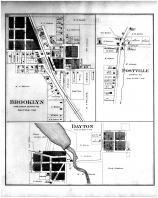 Brooklyn, Postville, Dayton, Green County 1891