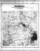 Decatur Township, Brodhead, Green County 1891