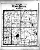 Green County Map, Green County 1891