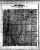 Jefferson Township, Juda, Twin Grove, Green County 1891