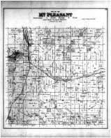 Mt Pleasant, Monticello, Schulte PO, Green County 1891