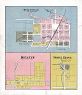 Belleville, Decatur, Spring Grove, Green County 1902