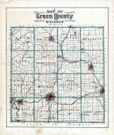 County Map, Green County 1902