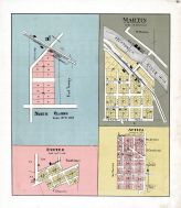 North Clarno, Exeter, Martin, Atica, Green County 1902