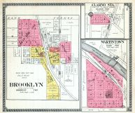 Brooklyn, Clarno Sta., Martintown, Green County 1918