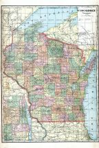 State Map, Green County 1918