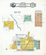 Dayton, Attica, Belleville - Villages, White's Addition, Green County 1931