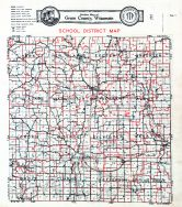 School District Map, Green County 1931