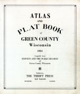 Title Page, Green County 1931