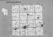 Index Map, Green County 1993