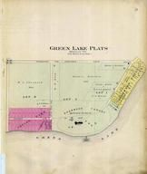 Green Lake Plats, Sherwood Forest, Irving Park, Green Lake County 1901