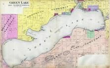 Green Lake, Malcolm Bay, Norwegian Bay, Quimby's Bay, Blackbird Point, Oakwood, Green Lake County 1901