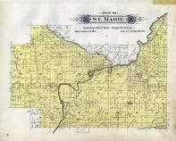 St. Marie Township, , Mt. Tom, Fox River, Green Lake County 1901