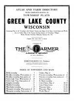 Title Page, Green Lake County 1914