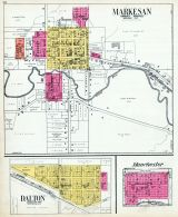 Markesan, Dalton, Manchester, Green Lake County 1923