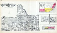 Marquette Township, Sherwood Point, Sherwood Forest, Irving Park, Lakeside, Pleasant Point, Maple Hill Crest, The Lindens, Green Lake County 1923
