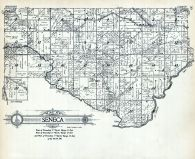 Seneca Township, Green Lake County 1923