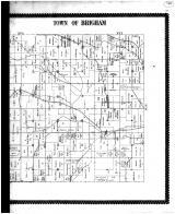 Brigham Town - Right, Iowa County 1895