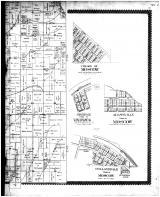 Mineral Point Town, Moscow Village, Jonesdale, Adamsville, Hollanddale - Right, Iowa County 1895