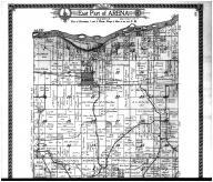 Arena Township - East, Avoca - Above, Iowa County 1915