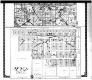 Arena Township - East, Avoca - Below, Iowa County 1915