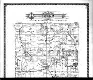 Brigham Township - Above, Iowa County 1915