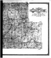 Highland Township, Waldwick, Blanchardville - Right, Iowa County 1915