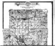 Linden Township, Mifflin, Adamsville - Above, Iowa County 1915