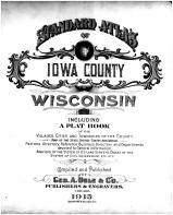 Title Page, Iowa County 1915