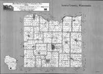 Index Map, Iowa County 1992