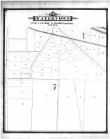 Watertown Township Section 10, Jefferson County 1887