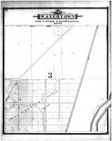 Watertown Township Section 8, Jefferson County 1887