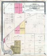 Watertown City - Section 034 and Section 027 - South Half of South West Quarter, Jefferson County 1919