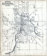 Watertown City Index Map, Jefferson County 1919