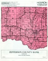 Hebron Township, Bark River, Jefferson County 1950c