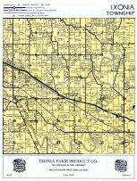 Ixonia Township, Pipersville, Rock River, Jefferson County 1950c