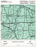Jefferson County Highway Map, Jefferson County 1950c