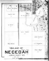 Necedah Village - South - Left, Juneau County 1898