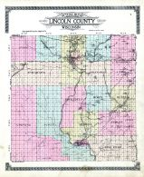 County Outline Map, Lincoln County 1914