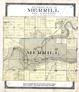 Merrill - Plat, Lincoln County 1914