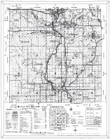 County Map and Legend 2, Lincoln County 1956