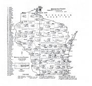 County Statistics Map, Lincoln County 1956