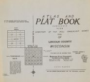 Title Page, Lincoln County 1956