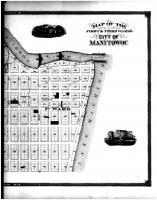 Manitowoc City - First and Third Wards - Right, Manitowoc County 1878