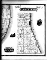 Two Rivers, Two Creeks - Right, Manitowoc County 1878
