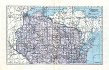 State Map - Northern, Marathon County 1930