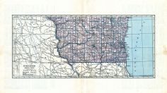 State Map - Southern, Marathon County 1930