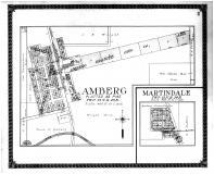Amberg, Martindale, Marinette County 1912