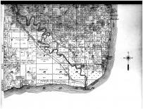 Fractional Townships 29 and 30 N, Ranges 23 and 24 E - Below, Marinette County 1912