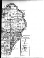 Fractional Townships 33 and 34 N, Ranges 22 and 23 E - Right, Marinette County 1912